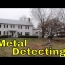 Metal Detecting A Pre-Civil War House
