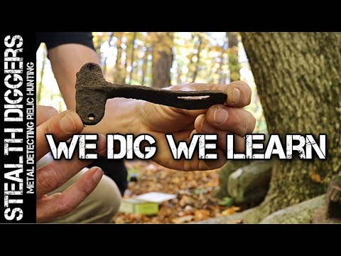 Finding cool old stuff & learning something metal detecting NH we dig we learn