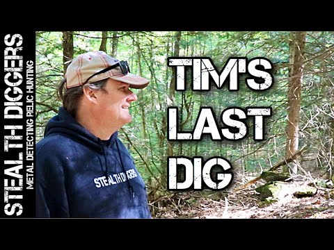Tims last dig metal detecting in New Hampshire cellars