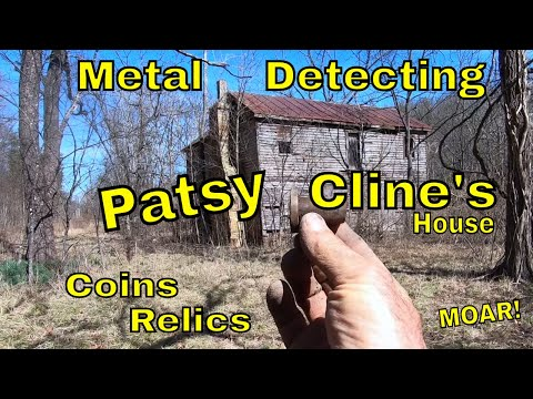 Patsy Cline Lived Here! Metal Detecting Patsy Cline's House