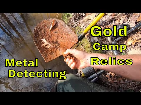 Metal Detecting Gold Camp Relics