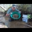 Panning And Sluicing For Gold In A Small Stream